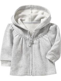 Fleece Zip-Front Hoodies for Baby Product Image