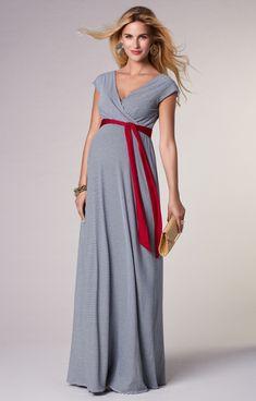 61b24619fb97 Alana Maternity Maxi Dress Cruise Stripe - Maternity Wedding Dresses