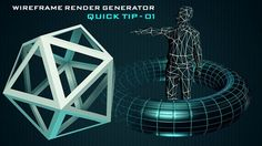 This quick tip covers the Wireframe Render Generator, a tool for creating wireframe rendering in Cinema 4D easily. Wireframe Generator will allow you to create wireframes from selected objects, and control things like wire and object color, wire thickness and a few other handy attributes. ► Download link: http://www.mustaphafersaoui.fr/quick-tip-01-c4d-wireframe-render-generator  To understand better this technique watch the Reference Tip By yader: https://vimeo.com/55435837# -- ► ...