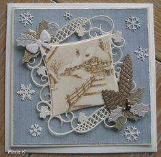 Voorbeeldkaart - Winter - Categorie: Stansapparaten - Hobbyjournaal uw hobby website