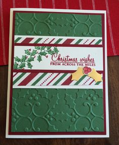 Holly Berry Happiness, Holly Berry Builder Punch and Holly Embossing Folder…