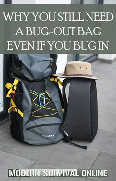 Having a bug out bag is a great idea no matter what kind of disaster or emergency you're preparing for. Here are all the reasons why... #bugoutbags #survival #SHTF