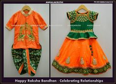 and sister matching dress designs by Angalakruthi boutique Bangalore Custom designs tradational wear desings dress designs boutique in bangalore Boys Party Dress, Kids Party Wear Dresses, Kids Dress Wear, Baby Boy Dress, Baby Girl Party Dresses, Dresses Kids Girl, Kids Outfits, Birthday Dresses, Kids Wear