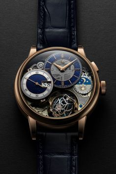 Jaeger-LeCoultre Master Grande Tradition GyroTourbillon 3 Meteorite - Introducing (Specs & Price) - Men's Watches from Top Brands Best Watches For Men, Luxury Watches For Men, Cool Watches, Rolex Watches, Nixon Watches, Fancy Watches, Unique Watches, Cheap Watches, Expensive Watches
