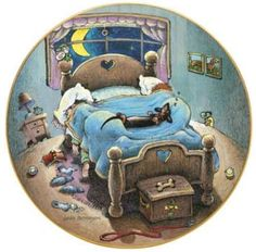 My dachshund is a bed hog!