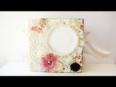 How to bind 6x6 pocket pages - Book 2 - YouTube