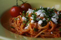 Feta-tomaattipasta - Pippurimylly