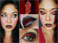 Aladdin- Jafar makeup #1