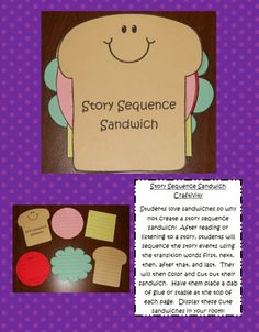 Story Sequence Sandwich!