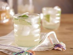 White Tea and Rum Cocktail with Honey-Lime Syrup recipe from Bobby Flay via Food Network