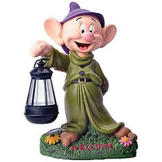 Disney's beloved Dopey welcomes your visitors with the warm glow from his lantern!