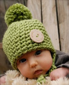 THE BABY RAILYNN HAT This is my second baby hat design in my new baby collection... This is a crochet pattern and like all my ...