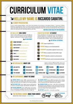 resume design samples 25 Creative Resume Designs that will make you rethink your CV