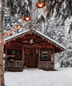 Follow us for more cozy cabins!