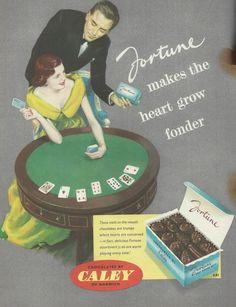 advert for chocolates