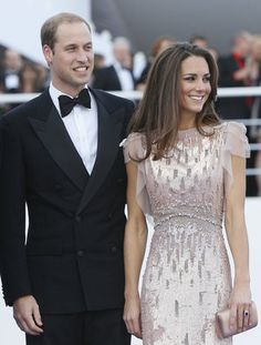 The Duchess of Cambridge glowed in a Jenny Packham gown as she arrived at a London charity event on June, 9, 2011.