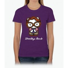 Goodbye Barb Stranger Things Womens T-Shirt