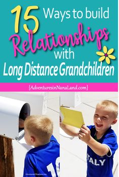 15 Ways to Be Awesome Long Distance Grandparents When you live far away from you. - 15 Ways to Be Awesome Long Distance Grandparents When you live far away from your grandkids, it doe - Grands Parents, Grandchildren, Grandkids, Granddaughters, Subscription Boxes For Kids, Baby Arrival, Activities To Do, Toddler Activities, Kids Boxing