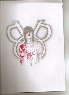 bvb Anime Drawing | Andy Sixx- Black Veil Brides by AkiChanx07