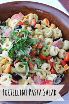 It's a Lovely Life! Travel, Recipes, So Cal Lifestyle, Mom Talk and More Blog | Summer Picnic Tortellini Pasta Salad