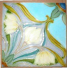 Art Nouveau Tile ~ West Side Art Tiles -3278n300p4b>