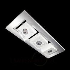 Funktionelle LED-Deckenleuchte Tresol Cube Trio 7261022
