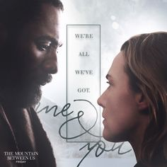 Love is key to survival. See Kate Winslet and Idris Elba in The Mountain Between Us, in theaters today.