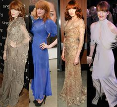 """Florence REALLY likes diaphanous dresses. Click on the link to see a """"pared down"""" selection of 20."""