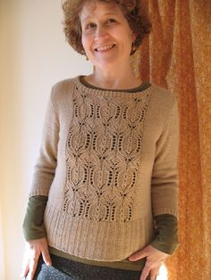Lace Pullover by bluepeninsula, via Flickr