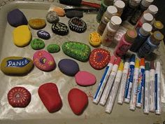 The HeART of Words: Painting Rocks - A New Obsession