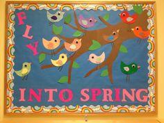 Back To School Bulletin Board twitter birds Different
