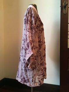 Miss Fisher's kimono, BurdaStyle 2012-02-112, side