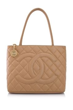c23a50425d Vintage Pre-owned Chanel Medallion Tote Coco Chanel