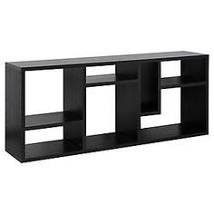 Tvilum  Módulo 183X40X76 Cm Flexo Negro Shelves, Table, Furniture, Home Decor, Black, Shelving, Shelving Racks, Interior Design, Home Interior Design