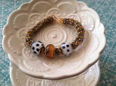 Chevron Patterned Rainbow Loom Bracelet with by ThinkDesignCreate, $4.50