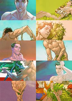 I just felt like you needed more nearly naked Jason Todd in your life. You can thank me later, just enjoy.
