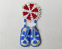 Miniature A miniature is a small-scale reproduction, or a small version. It may refer to: Native American Crafts, Native American Beading, Native American Fashion, Seed Bead Earrings, Beaded Earrings, Beaded Jewelry, Handmade Jewelry, Seed Bead Patterns, Beading Patterns