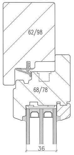 detail menuiserie bois fenetre - Lilo