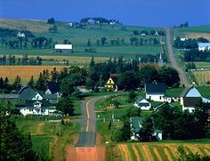 Long River, PEI  PEI is Canada's most rural province with under 40% classified as urban (photo by Sherman Hines/Masterfile).