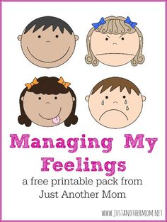 Managing My Feelings: A free printable pack for children with autism