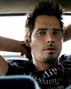 Chris Cornell...no matter how many hairstyles this man has I still LOVE him!