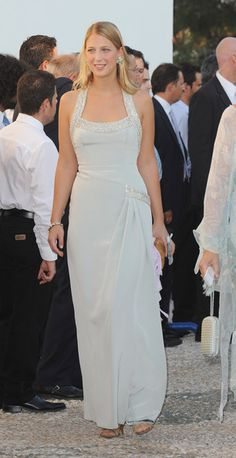 Lady Gabriella Windsor at the 2010 wedding of Prince Nikolaos of Greece to Tatiana Blatnik