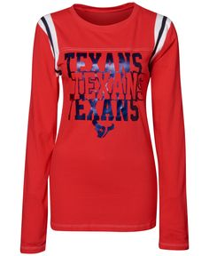 Women's Houston Texans 5th & Ocean by New Era Navy Long Loop French Terry Cowl Neck Pullover Hoodie