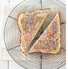 Fairy Bread cake.....so easy