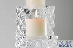 Ice Sculpture #Ice #CandleSticks Ice Sculptures, Candlesticks, Pillar Candles, Candle Holders, Cool Stuff, Candle Sticks, Candlestick Holders, Porta Velas, Candles