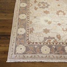 Home dining room rug on pinterest area rugs rugs and for Plum and cream rug