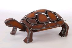 Tortoise Turtle Sculpture by Henry Dupere