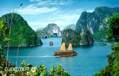 Cungmua - Khám phá các thắng cảnh đẹp nổi tiếng tại Vịnh Hạ Long - Một trong 7 kỳ quan thiên nhiên mới của thế giới với Tour Hạ Long 2 ngày 1 đêm dành cho 1 người. Chỉ 999.000đ cho trị giá 1.750.000đ.