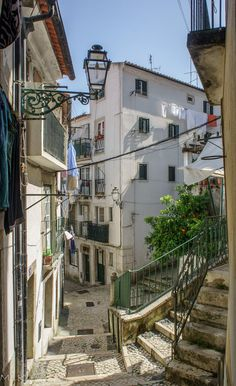 Alfama, Lisbon (by Tiigra) (All things Europe) Sintra Portugal, Visit Portugal, Portugal Travel, Spain And Portugal, Portugal Tourism, Most Beautiful Cities, Wonderful Places, Algarve, The Places Youll Go
