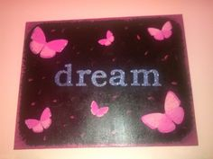 Pink butterfly dream